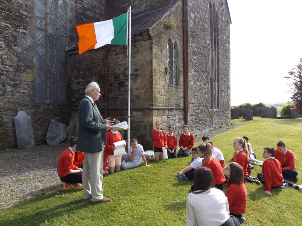 Secretary of the WCHC John Hurley talks about the history of 1916